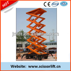 14m Electric genie personnel lift/Vertical lift ladder