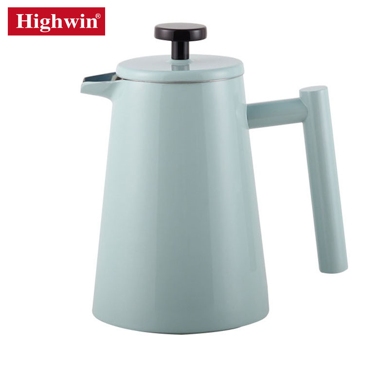 Highwin Rilis Baru Dinding Ganda Isolasi Lukisan Warna Kopi French Press 350 Ml-1000 Ml