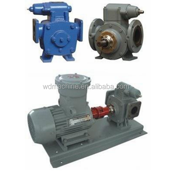 Rotary Vane pump for fuel oil delivery truck