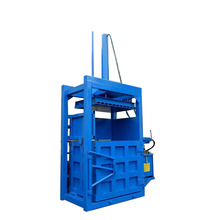 Hot sellingCompactor alfalfa grass aluminum can baling machine/wood sawdust vertical compactor