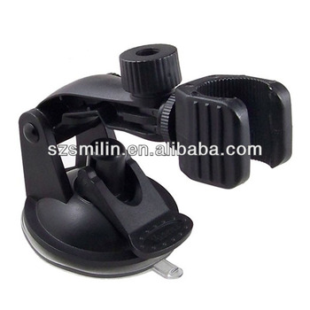 Original factory supply LED flashlight Bullet camera Mount Holder for car windshield window suction cup mount