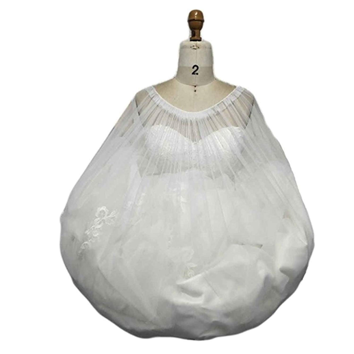 WEDDING ESSENTIAL!New Use Bridal Petticoat Underskirt Save You From Toilet Water