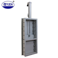 YUDA Automatic door switch feed processing industry use pneumatic slide gate valve