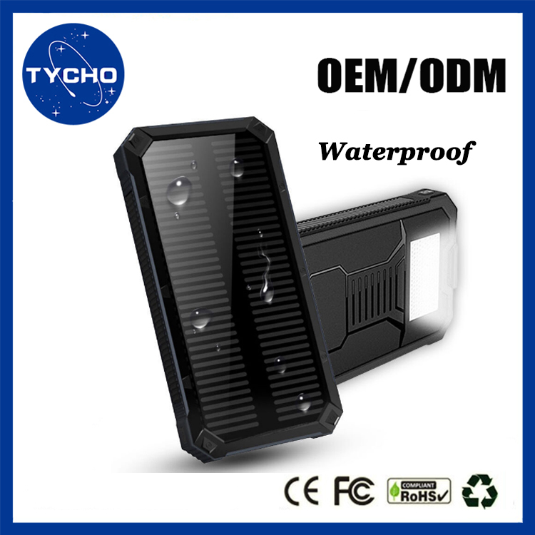 official photos 8bde3 a0769 Portable Power Bank Charger 20000mah Waterproof Solar Rechargeable Charger  Real Capacity Universal Solar Power Bank For Laptop - Buy Real Capacity ...
