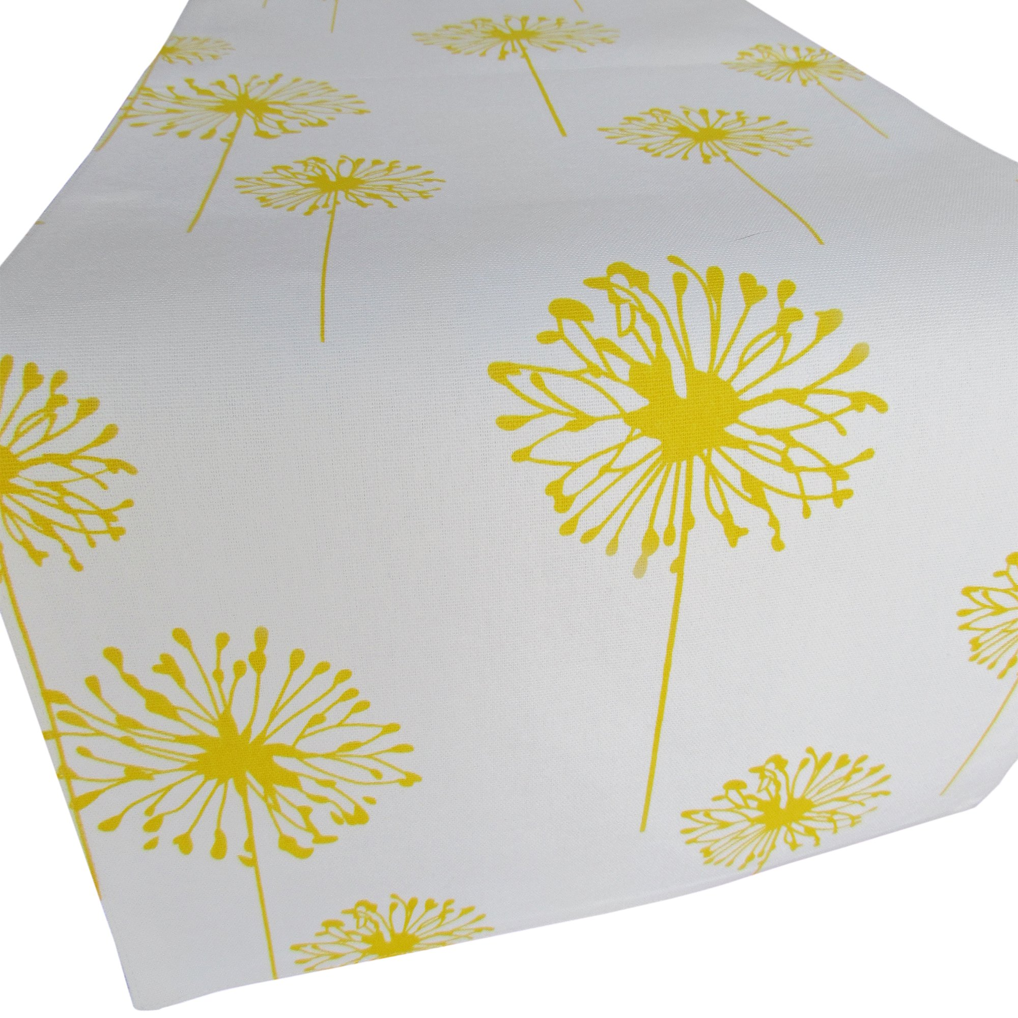 Get Quotations · Yellow Dandelion Table Runner   Crabtree Collection (12 X  72)
