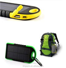 Baru Panas Battery Portable Solar Power Bank Charger Ponsel
