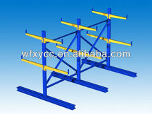 Warehouse Storage Double Sided Steel Cantilever Rack