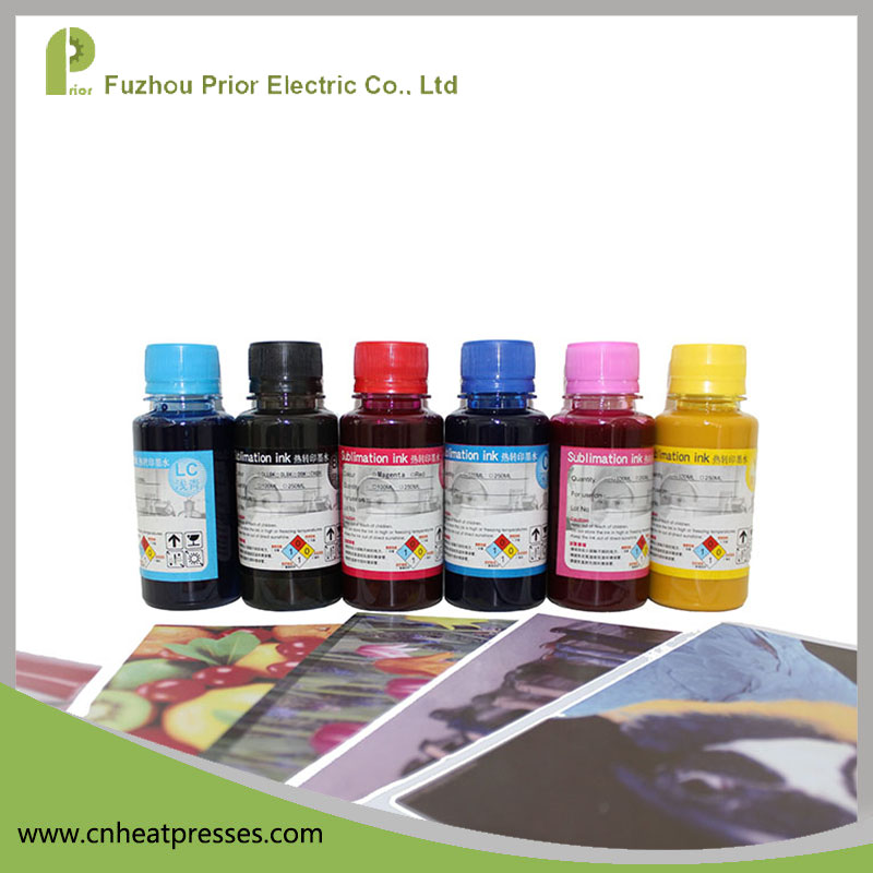 High Quality 6 Colors Heat Transfer Dye Ink Korea Sublimation Heat Transfer Ink