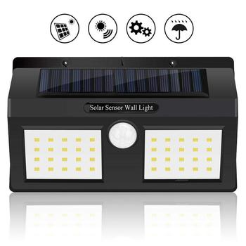 Amazon Hot sales 200LM 40 LED Wireless Waterproof  Motion Outdoor Solar Panel Powered Lamp Sensor Emergency Home Wall Light