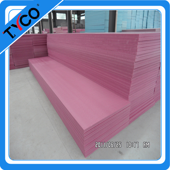 The modern flexible building materials foam xps insulation for Flexible roofing material