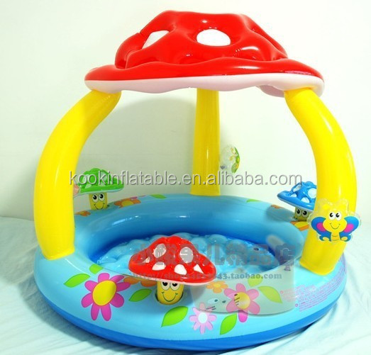 Sombreada piscina infl vel do beb piscina beb port til for Piscina portatil