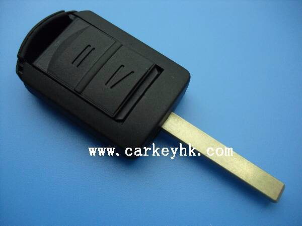 Novel Item &Promotion Opel Corsa 2 buttons remote key shell Hu100 blade for opel astra