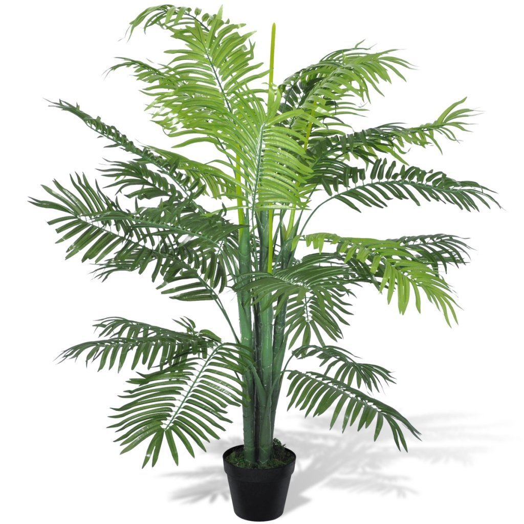 "vidaXL Artificial Phoenix Palm Tree with Pot 51"""