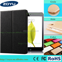 New arrival colorful case for ipad case leather for ipad mini 123 case cover