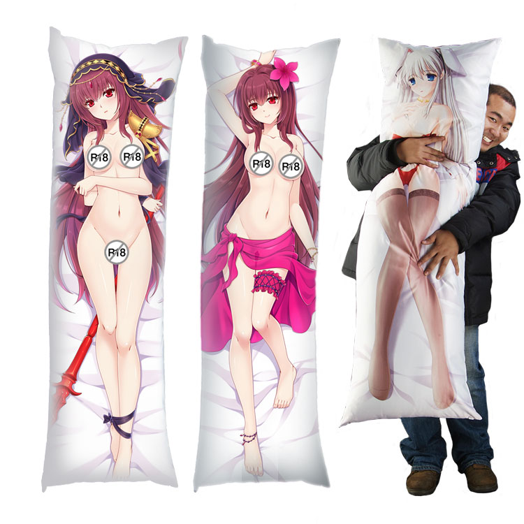 Fate/grand Order Fgo Scathach Lancer/assassin Naked Body Pillow Cover  Fabric Huggies - Buy Body Pillow Cover,Fabric,Huggies Product on Alibaba com