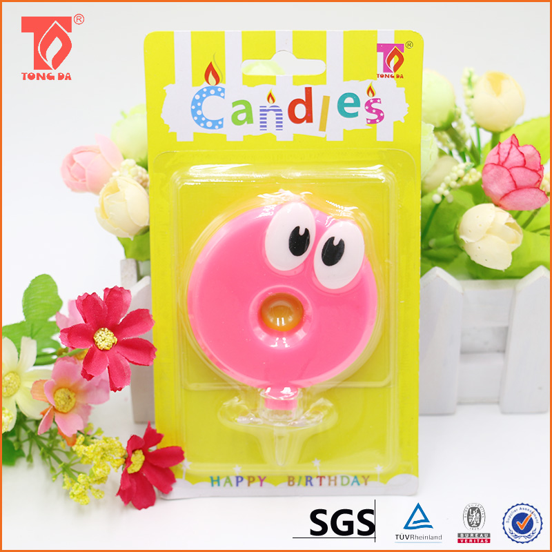 Manufacturer directly supply birthday number candle