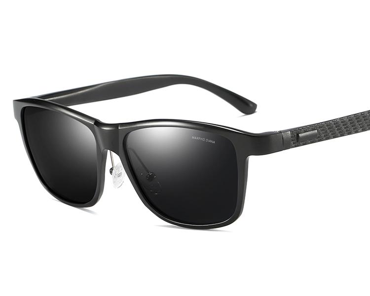 f6cb986eb0d24d Nouvelle Mode En Aluminium de Alliage De Magnésium Hommes Polarisées  Conduite lunettes de Soleil