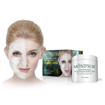 MONDSUB Private Label Carbonated Clay Oxygen Bubble Mask