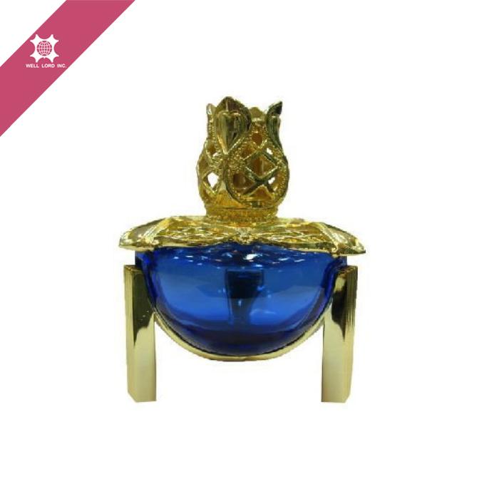 8de658bde الملكي الأزرق زجاجة عطر الألومنيوم حلية العربية للعود-مباخر البخور ...