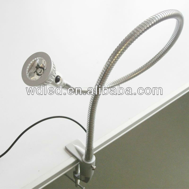Flexible Pipe Clamp Custom Led Bedside Reading Lamp