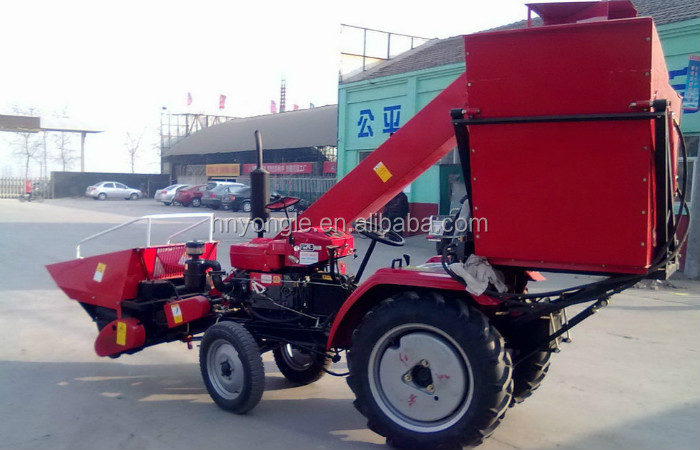China best manufacturer self-propelled corn harvester /corn maize combine harvester machine