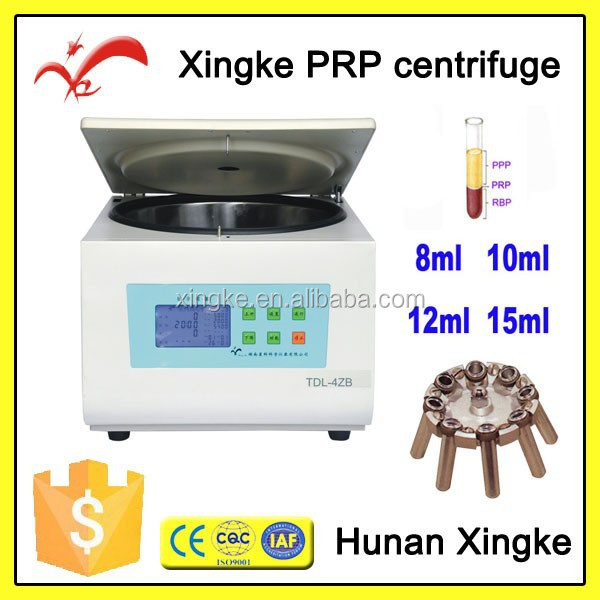 veterinary injection blood banking centerfuge for blood bank using
