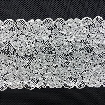 T1578 19cm Beautiful Natural Color 100 Cotton Crochet Lace Trim