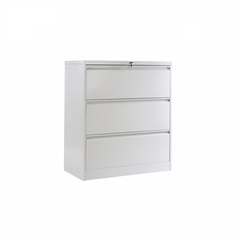 Hanging Files Lockable Cupboard Steel Cabinet 3 Drawers Funky Filing  Cabinets