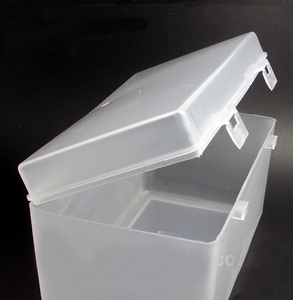 Rectangle Clear Plastic Box for Home Storage