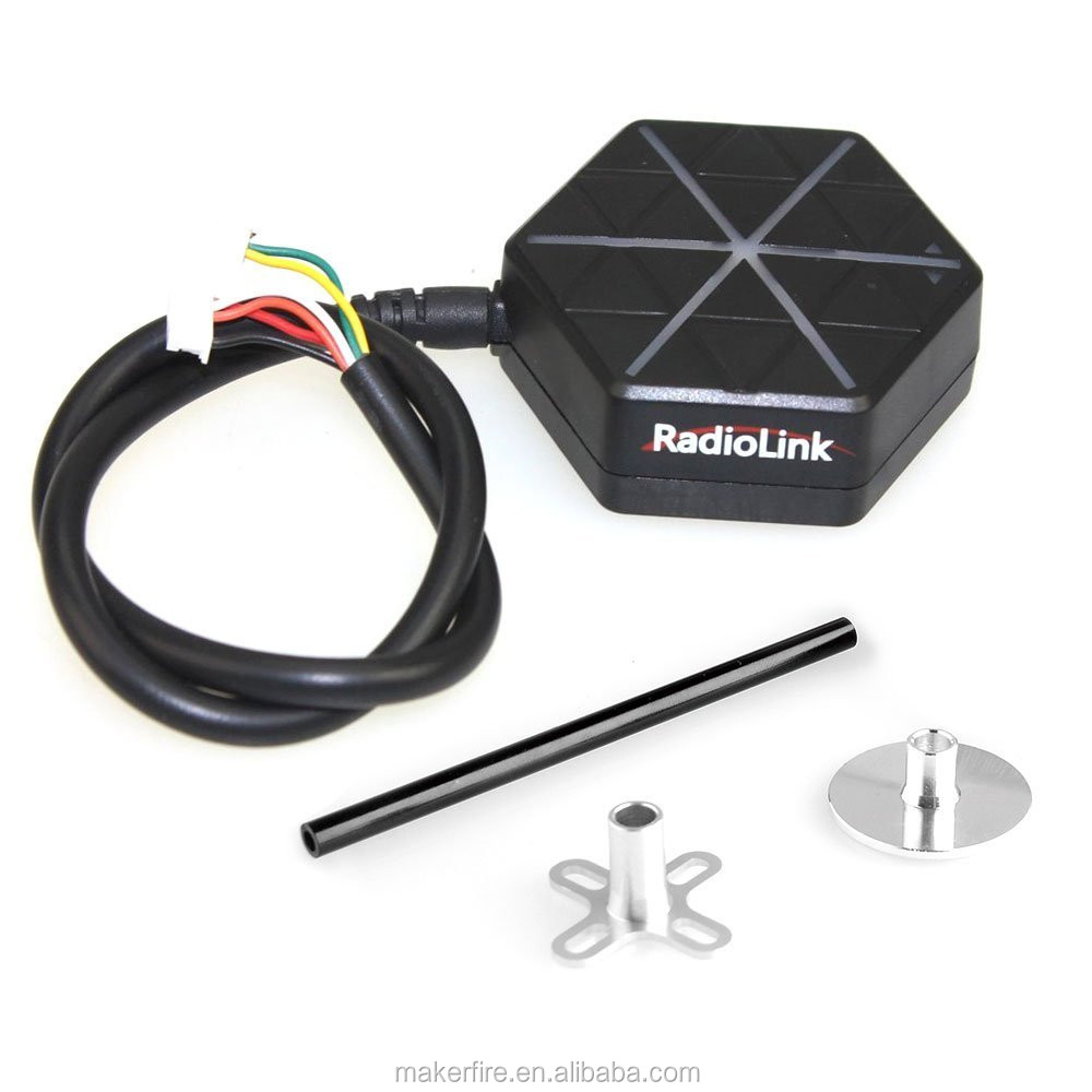In 2017 Radiolink M8n Gps Se100 With Mount Holder Build In Compass Antenna  For Pix Px4 Pixhawk Apm Cc3d F3 Flight Controller - Buy Radiolink M8n