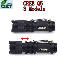 For UltraFire CREE XM-L Q5 450Lumens cree led Torch Zoomable cree waterproof LED Flashlight Torch light