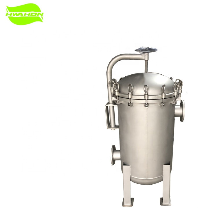4 bag filter housing stainless steel 304 multi bag filter housing for impurity <strong>filtration</strong>