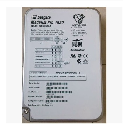 Hard disk Hot-sale new and original Hard drives ST340017A 40GB 7200rpm