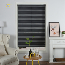 100 poliestere shades <span class=keywords><strong>In</strong></span> <span class=keywords><strong>Australia</strong></span> popolare zebra rullo blackout tende per la decorazione domestica