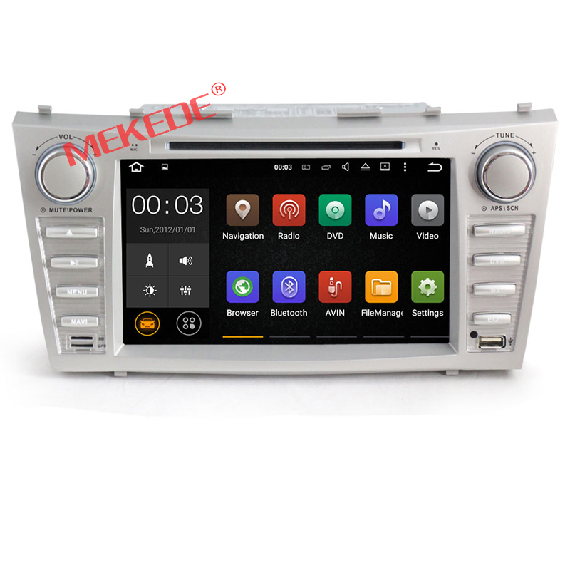 "In stock 8"" android 7.1 Quad Core 2din <strong>Car</strong> DVD Player For T-OYOTA CAMRY with GPS Navi BT <strong>TV</strong> Radio Stereo memory card map"