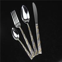 Wholesale Plain Cutlery Different Size Spoon, Chinese Cutlery Bulk Spoon high quality stainless steel 18/10 cutlery