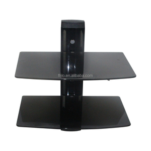 Electric tv bracket ceiling mount set-top box tv mount dvd wall bracket