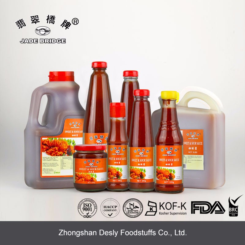 High quality sweet sour sauce for restaurant packaging 5lbs