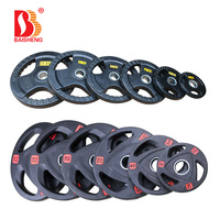 Hot Sale Free Weight Commercial Gym Equipment Barbell Discs Bumper Plate Weight Plate