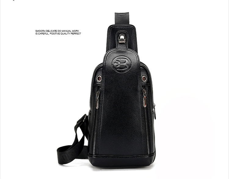 Wholesale FD BOLO Brand Bag Men Chest Pack Single Shoulder Strap Back Bag  Leather Travel Men Crossbody Bags Vintage Rucksack Chest Bag Handbags Bags  From ... 8469e5da26f66