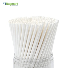 YTBagmart China Fabrikant FDA Food Grade Groothandel Drinken Wit Papier <span class=keywords><strong>Rietjes</strong></span>