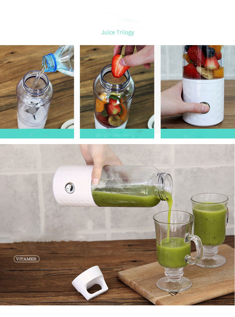 Hot Selling Household juicer blender personal USB Electric Juicer Cup portable juicer blender