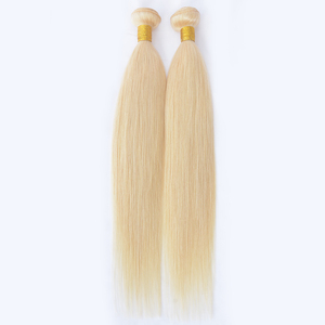 Aliexpress virgin ponytail blonde hair extensions remy raw blonde hair bundles straight #613 raw vietnam hair for black women