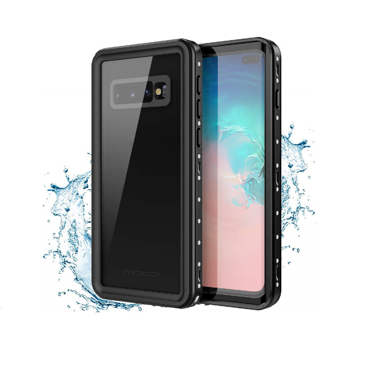 MoKo Waterproof Case for Samsung Galaxy S10 Plus 2019