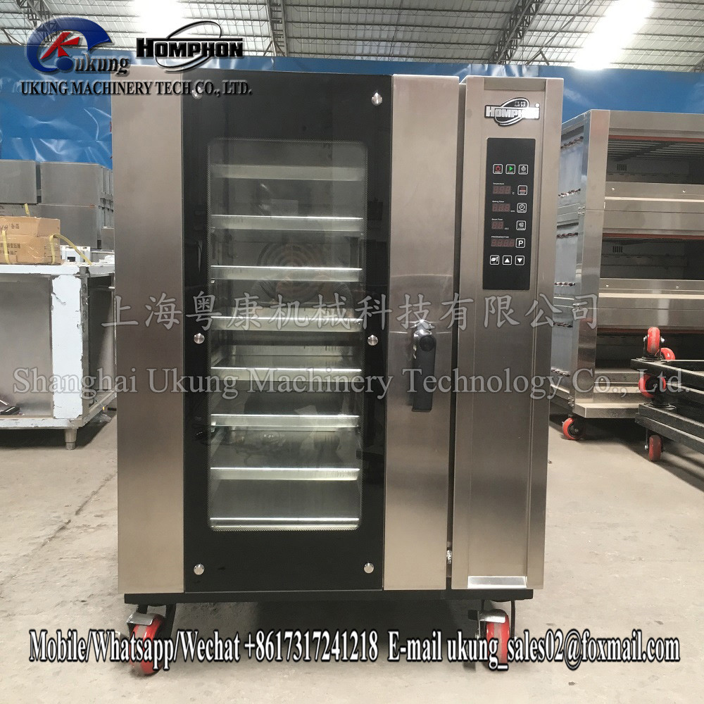 Commercial Gas Pizza Oven Bread Making Machine Baking Equipment Gas 8 Deck Oven For Bakery Baking Oven