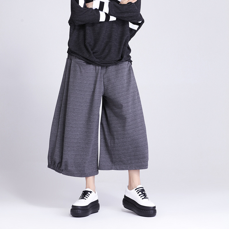 China Supplier Girls Loose Ruffle Style Palazzo Karachi Pants