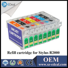Plastic recycling cartridge for Epson R2000 refill ink cartridge