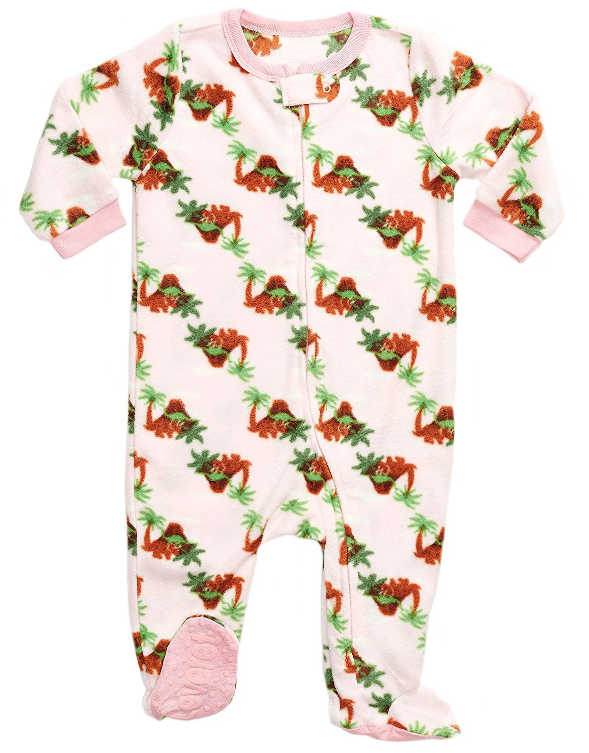 Get Quotations · Leveret Fleece Baby Girls Footed Pajamas Sleeper Kids   Toddler  Pajamas (3 Months-5 246a636dd