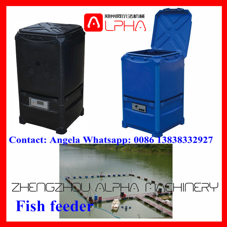 pisces koi pond fish pondfeederandshoot feeder automatic