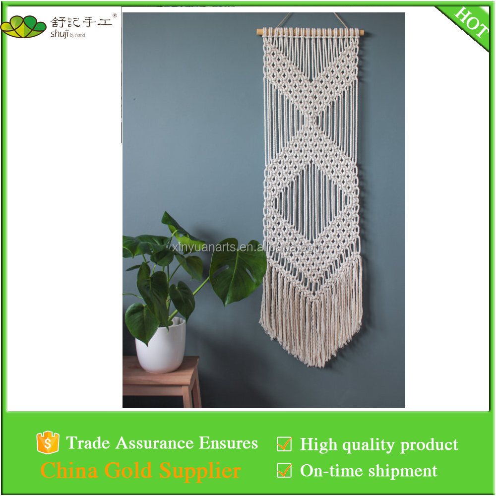 Hand woven macrame wall hanging , wall art , indoor wall decor